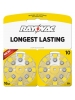 Rayovac L10ZA-16ZM - Zinc Air Battery - 1.4 Volt - For Hearing Aids - 10 Size - 16 Pack - Sold by Pack Only